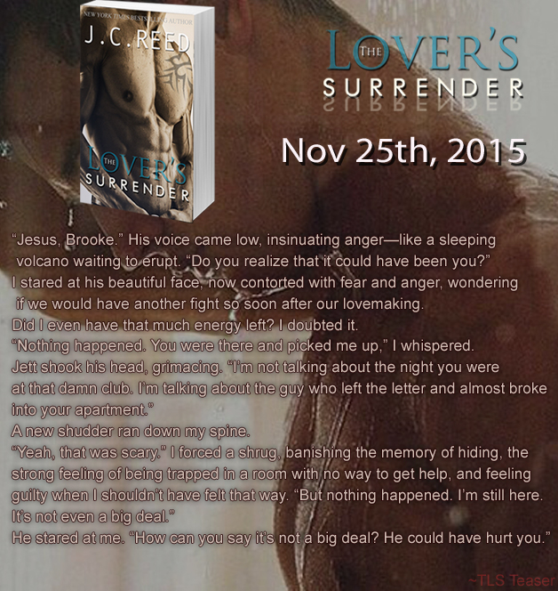 LOVERS SURRENDER EXCERPT